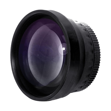 Nikon Ring - Optics 0.43x High Definition Wide Angle Conversion Lens for Nikon Coolpix P510 (Includes Ring Adapter)