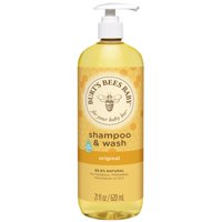 Burt's Bees Baby Shampoo & Wash, Original Tear Free Baby Soap - 21 oz Bottle