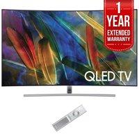 "Samsung QN65Q7CAM 65"" Q7C Curved Smart 4K Ultra HD QLED TV (2017) (QN65Q7CAMFXZA) with 1 Year Extended Warranty"