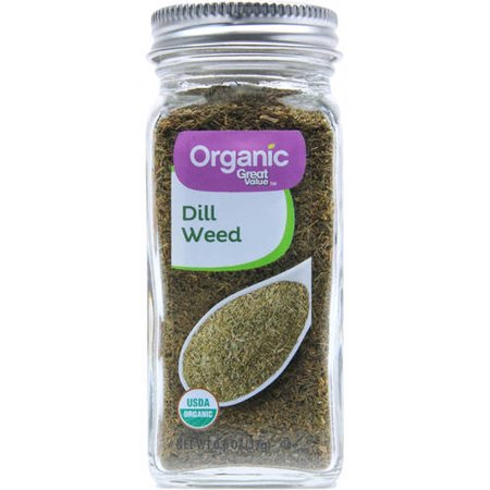 - Great Value Organic Dill Weed, 0.6 oz