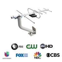 Onn 4K Hd TV Outdoor Antenna With 60-Mile Range