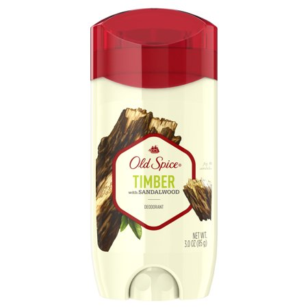 Old Spice Deodorant for Men Timber with Sandalwood Scent Inspired by Nature 3 oz
