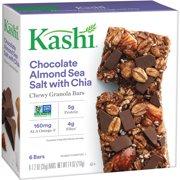 (4 Pack) Kashi Chewy Granola Bars Chocolate Almond Sea Salt 1.2 Oz - 6 Ct
