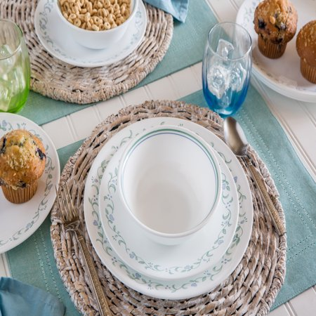 Corelle Livingware Country Cottage Dinnerware Set, 16 (Cottage Accent Plates)