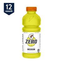 Gatorade Zero Sugar Thirst Quencher, Lemon Lime, 20 oz Bottles, 12 Count
