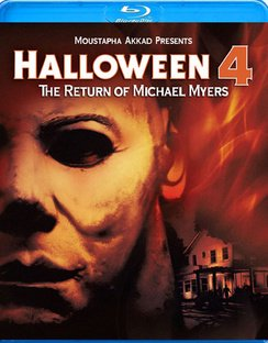Halloween 4: The Return Of Michael Myers (Blu-ray) - Halloween Michael Myers Movie Collection