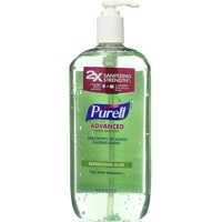 2 Pack - Purell Hand Sanitizer with Refreshing Aloe 33.8 oz