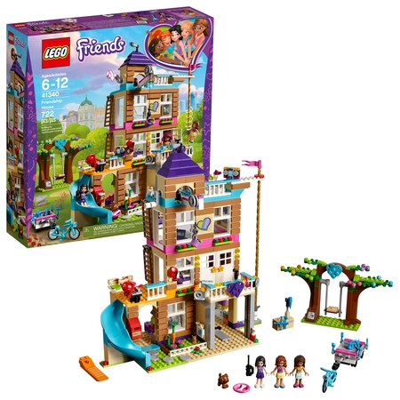 LEGO Friends Friendship House 41340 Building Set (722