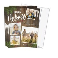 5x7 Photo Card Stock 110 lb with Return Address Printing Tier 1
