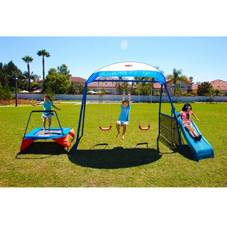 Ironkids Inspiration 250 Fitness Playground Metal Swing Set