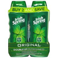 Irish Spring Body Wash for Men, Original - 18 ounce Twin Pack