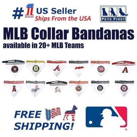 - Pets First MLB Arizona Diamondbacks Dogs and Cats Collar Bandana - Medium