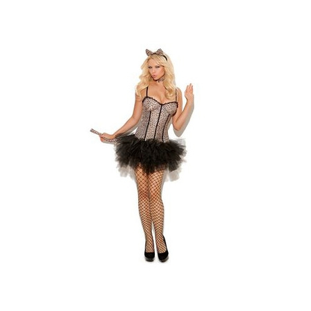 Leopard Print Halloween Accessories (Feline FiFi Costume 9991 Elegant Moments Leopard)