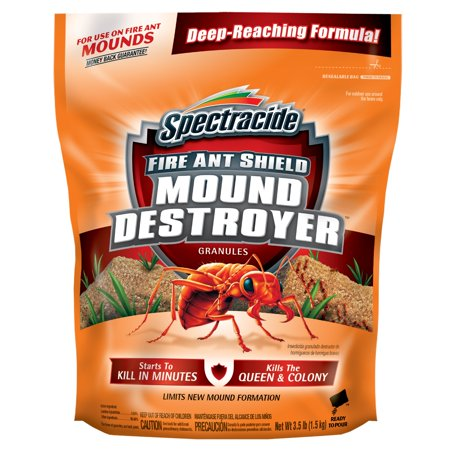 Spectracide Fire Ant Shield Mound Destroyer Granules, 3.5-lb ()