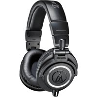 Audio-Technica ATH M50x Professional Monitor Headphones, Available in Multiple Colors