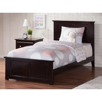 Madison Twin XL Traditional Bed with Matching Foot Board in Espresso