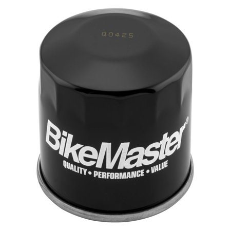 Kawasaki Vn1500 Mean Streak (BikeMaster Black Oil Filter for Kawasaki VN1500 Vulcan Mean Streak 2002-2003 )