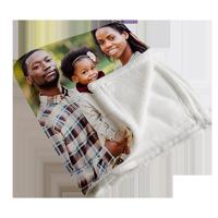 50x60 Plush Fleece Photo Blanket