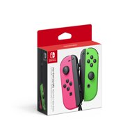 Nintendo Switch Joy-Con Pair (L/R), Neon Pink and Neon Green, 45496881900