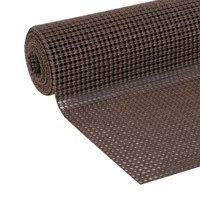 Duck Select Grip 20 In. x 6 Ft. shelf Liner, Chocolate