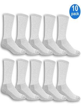 Men's Workgear Crew Socks 10-Pack