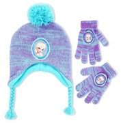 7a377c2bfed Disney Frozen Elsa Hat and Gloves Cold Weather Set