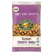 Nature's Path Organic Gluten-Free Breakfast Cereal, Vanilla Sunrise, 26.5 Oz, Eco Pac