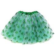 ecd4cbe363c So Sydney Adult Plus Kids Size St. Patrick s Day SHAMROCK TUTU SKIRT Costume  Dress Up