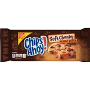 (2 Pack) Nabisco Chips Ahoy! Soft Chunky Peanut Butter Cookies, 10.5oz