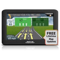 """Refurbished Magellan RoadMate 5520-LM 5"""" Touch Portable Car GPS System w/ Free Lifetime Maps"""
