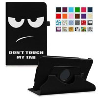 Fintie Samsung Galaxy Tab A 10.1 SM-T580/SM-T585 Tablet Case - 360 Degrees Rotating Swivel Stand Cover, Don't Touch
