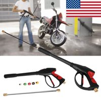 SPRAY GUN WAND / LANCE & TIPS Power Pressure Washer Water Pumps Up to 4000 psi