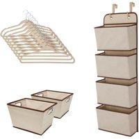Delta Children Complete Nursery Organization ValuePack (13-Piece Set), Beige