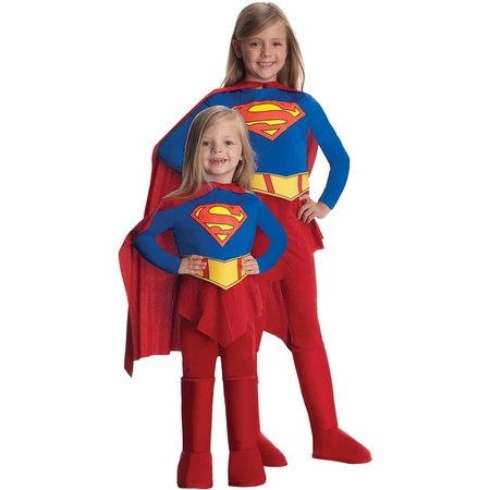 Supergirl Child Halloween Costume](Girls Super Girl Costume)