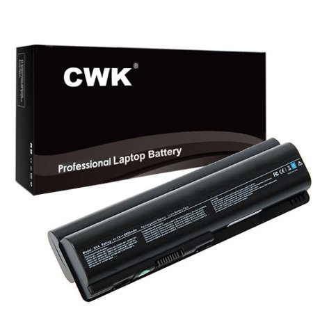 CWK® 12 Cell 8800mAh High-Capacity Battery for Compaq Presario CQ40 CQ41 CQ45 CQ50 CQ60 CQ60-215DX CQ61 CQ70 Notebook Compaq Presario CQ45 CQ50 CQ50-139WM CQ60 CQ61 CQ70 CQ71 Li-ION CQ41 CQ50