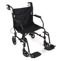 Equate Transport Chair, Black