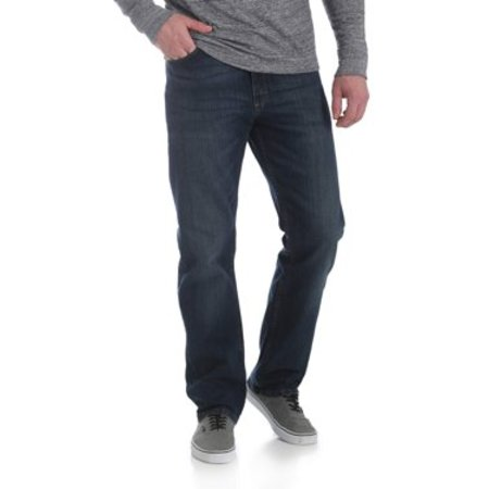 Wrangler Men's 5 Star Relaxed Fit Jean with Flex Belted Bootcut Relaxed Jean