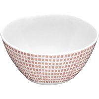 Better Homes and Gardens Microcheck Melamine Cereal Bowl, 4-Pack