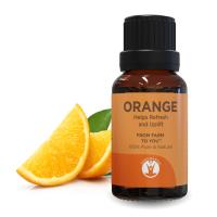 GuruNanda Orange Oil Essential Oil, 0.5 Oz