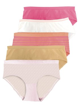 Women's Seamless Hipster Panty - 5 Pack