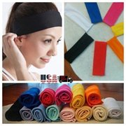 Sports Hair Band Elastic Wide Gym Yoga Exercise Headband Bandage 1pc 811495a3f4e