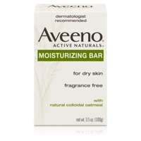 (2 pack) Aveeno Gentle Moisturizing Bar Facial Cleanser for Dry Skin, 3.5 oz