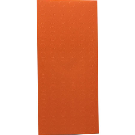 Orange Circle Dot Stickers, 0.25 Inch Round, 10 Sheets of 96 Labels, 960 Total Labels