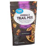 Great Value Omega-3 Trail Mix, 22 Oz.