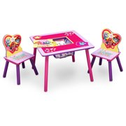 Nick Jr. PAW Patrol Skye and Everest Table and Chair Set with Storage