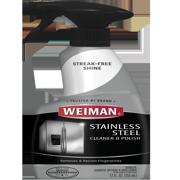 Weiman Stainless Steel Cleaner & Polish Spray, 12 oz
