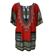 066895c8871 Marainbow Women African Festival Dashiki Shirt Kaftan Boho Hippe Gypsy Dress