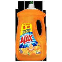 Ajax Ultra Triple Action Dishwashing Liquid Dish Soap, Orange - 90 fl oz