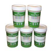 Easy@Home 12 Panel Urine Drug Test Cup 5 pack, WECDOA-7124-5P