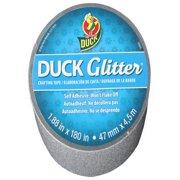 "Duck Glitter 1.88"" Silver Craft Tape, 5 Yd."